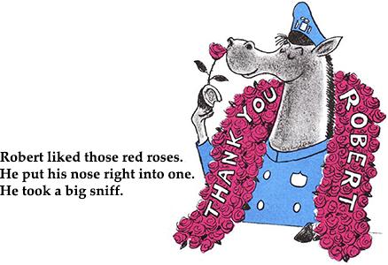 Robert the Rose Horse illustration